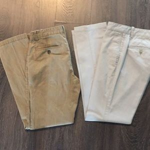 Banana Republic Aiden Pants (2 pair lot)
